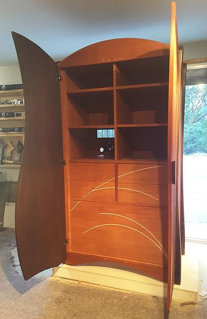 Custom designed armoire