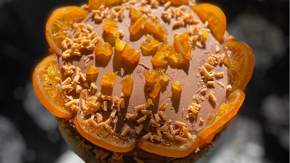 Milk Chocolate Ganache & Candied Orange Cake