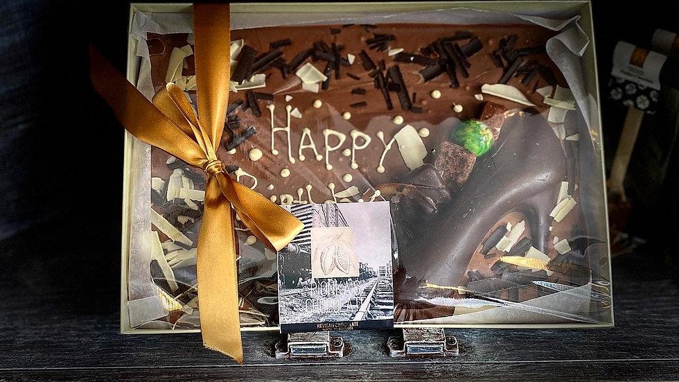 Celebration Chocolate Slab
