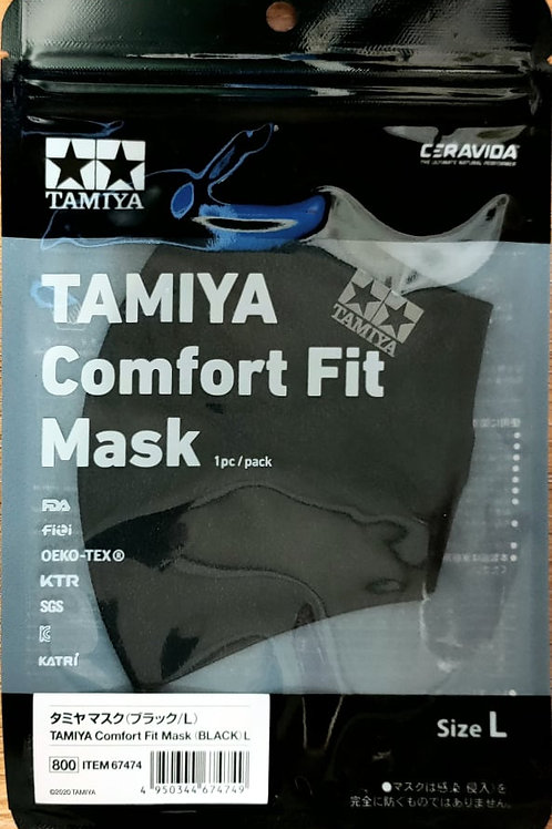 copy of Tamiya  67474 Comfort Fit Face Mask (Black) L (Large), Brand New