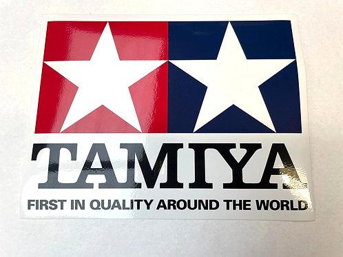 Original Tamiya Co. Large Clear Coat Logo Sticker MPN.66747 150mmx200mm