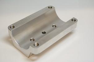 3D Machined Aluminium
