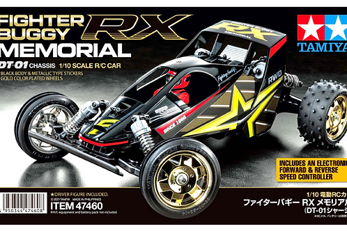 Tamiya Fighter Buggy RX Memorial DT-01 Chassis 47460
