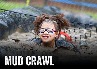 Kids Obstacle Challenge - Mud Crawl