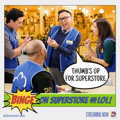 Superstore Binge Art