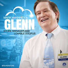 NBC's Superstore Character Art - Glenn