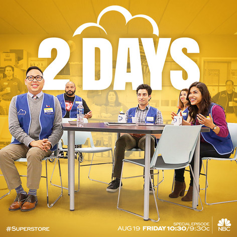 NBC Superstore Countdown Art - 2 Days