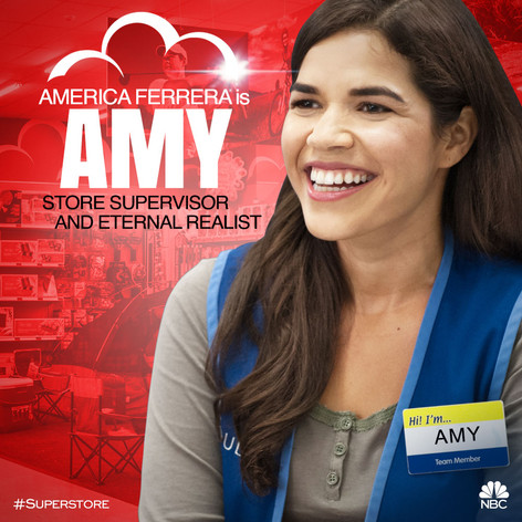 NBC's Superstore Character Art - Amy