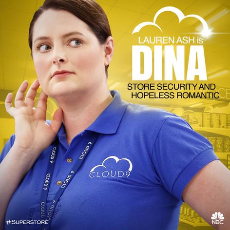 NBC's Superstore Character Art - Dina