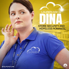 NBC's Superstore Character Art - Dina