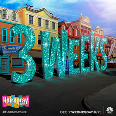 Hairspray LIVE! - Countdown Artwork