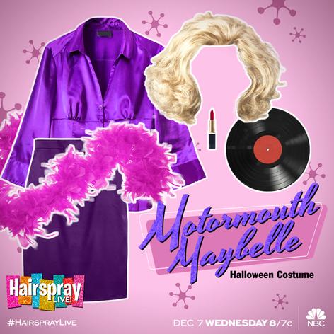 HairsprayLIVE - Motormouth MaybelleHalloween-Costume-Motormou