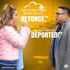 NBC Superstore Quote Art