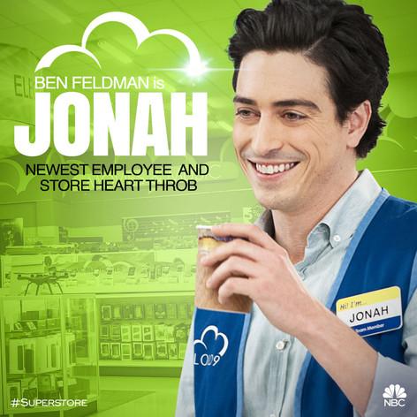 NBC's Superstore Character Art - Jonah