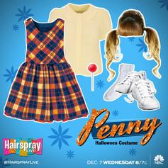 Hairspray LIVE! - Penny Halloween Costume