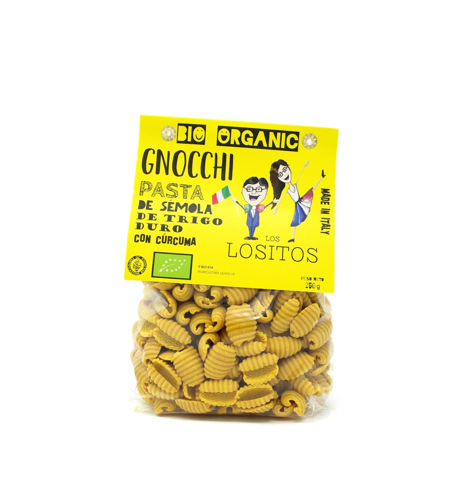 Gnocci Curcuma BIO