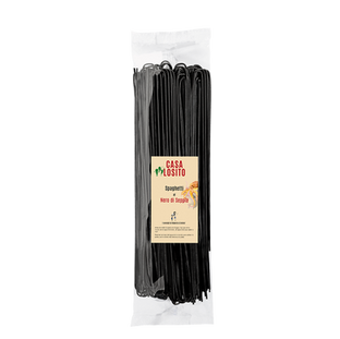 Spaghetti al nero di sepia