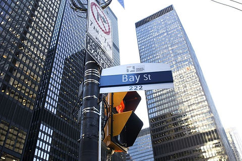 Picture of Canada's financial sector - Bay Street