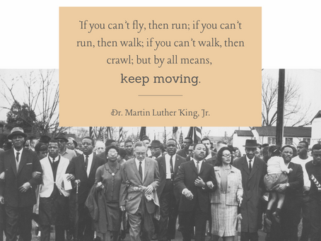 Inspired by Dr. Martin Luther King, Jr.