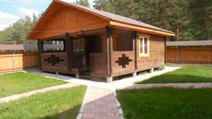 дом люкс 2 на 2 основных и 1 доп место.J