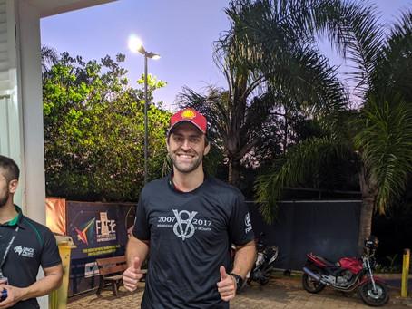 Piloto Sorocabano Átila Abreu visita oficinas das equipes V8 e B'Energy Facens