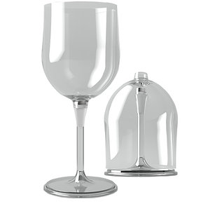 ハーフサイズ ワイングラス ペア