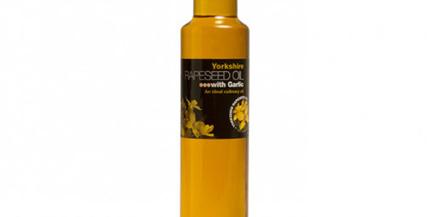 Yorkshire Rapeseed Oil with Garlic 250ml