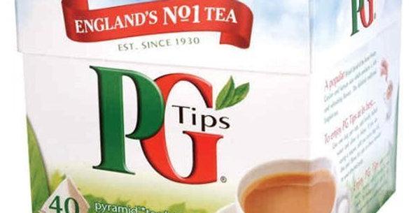 PG Tips (40 Bags)