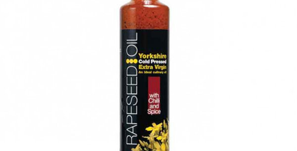 Yorkshire Rapeseed Oil with Chilli and Spice 500ml