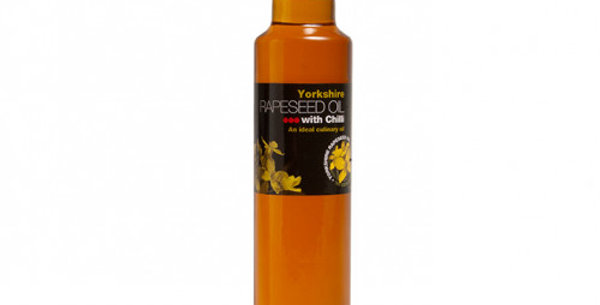 Yorkshire Rapeseed Oil with Chilli 250ml