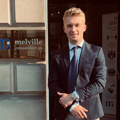 The Melville Independent Plc Internship Programme, by Patrick Lawrence.