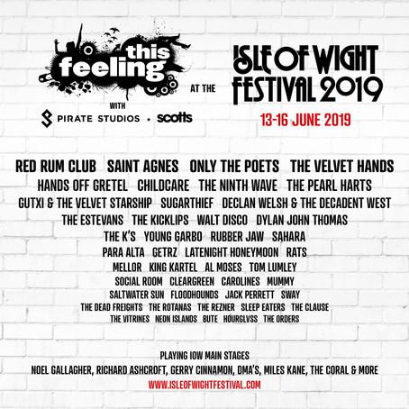 Carolines hit Isle Of Wight Festival 2019