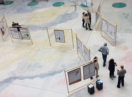 Spatial Morphology Studio Exhibition at Chalmers