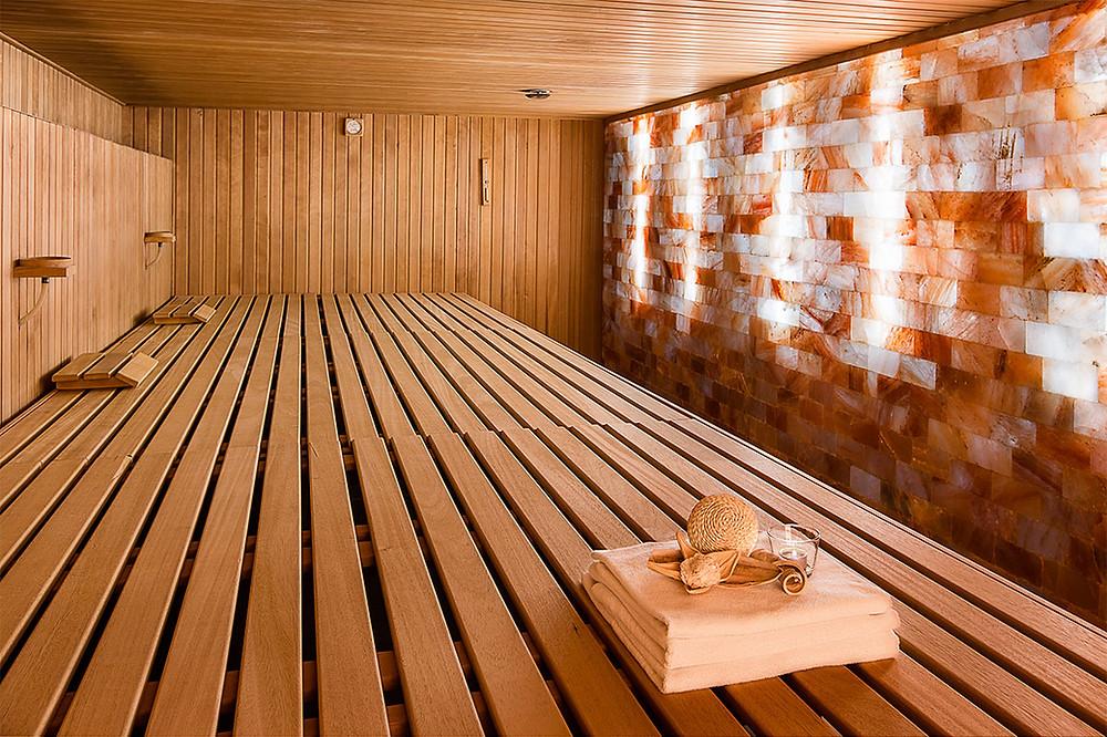 Minerály v solné sauně léčí dýchací cesty a pokožku Zdroj: Fotolia.com