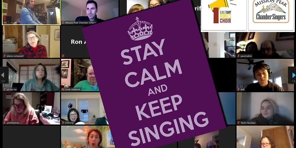 Tuesday Virtual Sing Alongs
