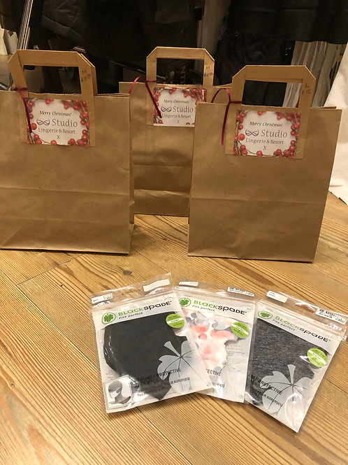 Christmas Pack of 3 Face Masks