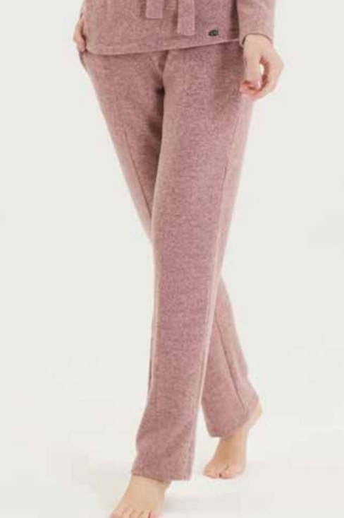 Blackspade Trousers in Pink Melange