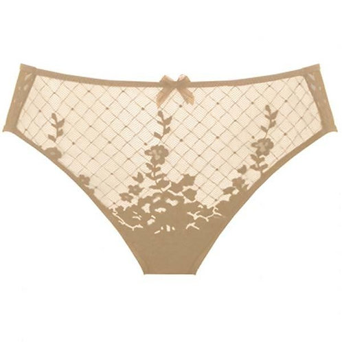 Empriente Melody Brief in Caramel & Perle