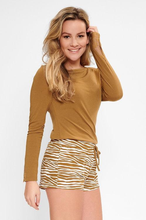 Lingadore Zebra Print Shorts