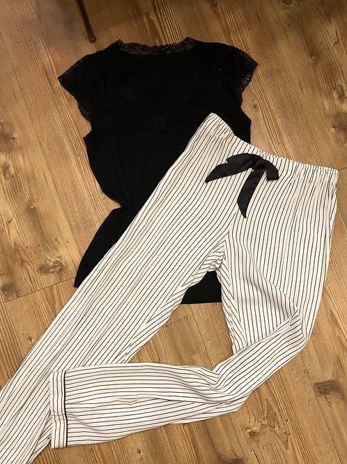 Lingadore B/W Striped PJ Bottom