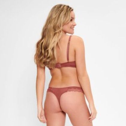 Lingadore Thong in Sable