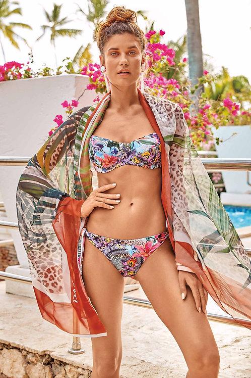 David Salina Fedora Fuschia Bikini