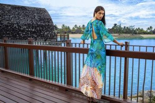 Aqua Blu Elysian Plunge Dress