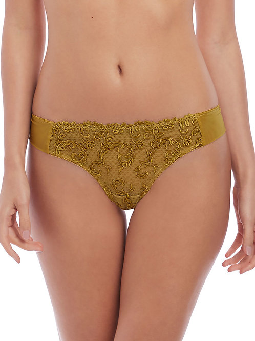 Wacoal Olive Gold Decadence Thong