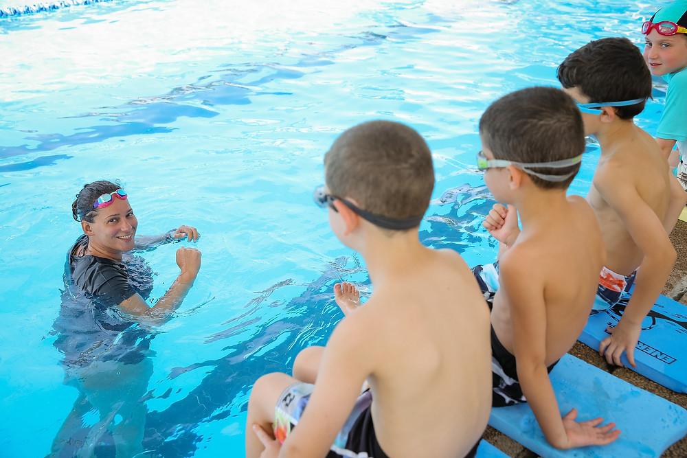לימודי שחייה בבית הספר לשחייה - איתן אורבך