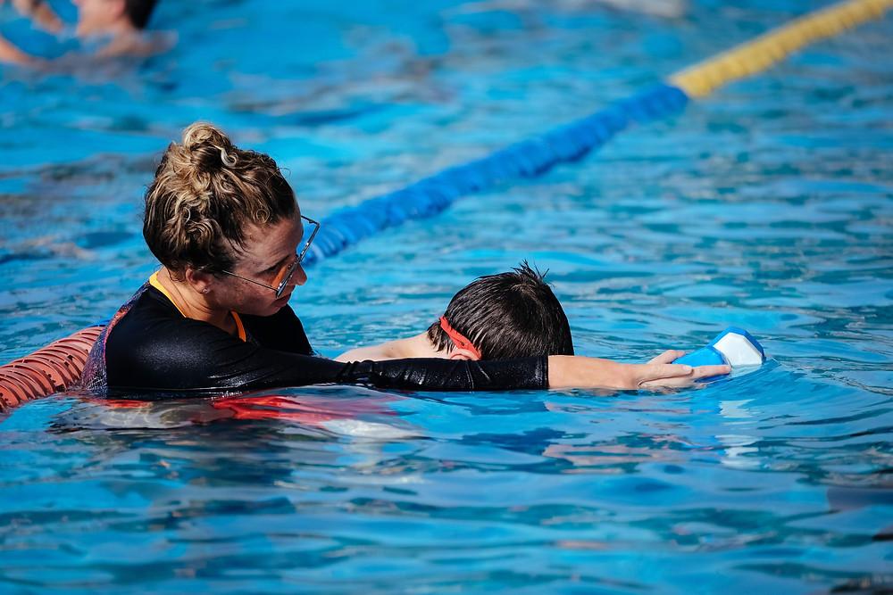 שיעור שחייה פרטי
