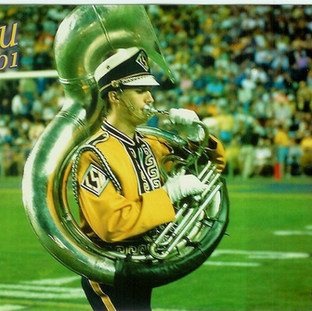 GEAUX Tiger Band!