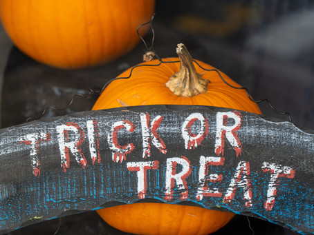 Trick or treat? I'll go for treat please!