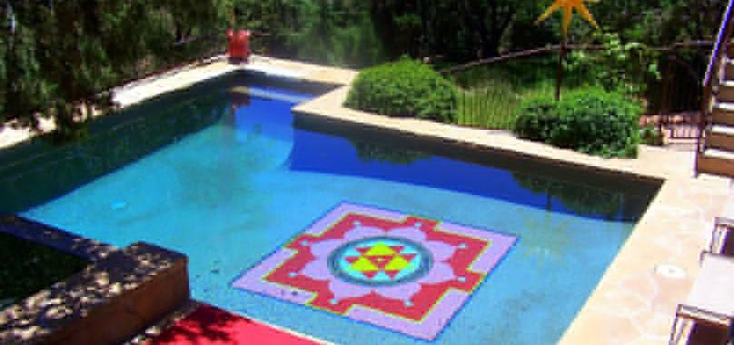 """The Light House"" pool area"