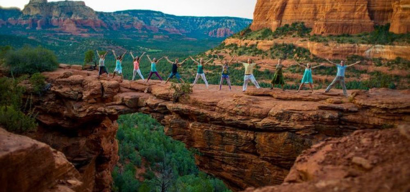 Yoga and Empowerment in Sedona